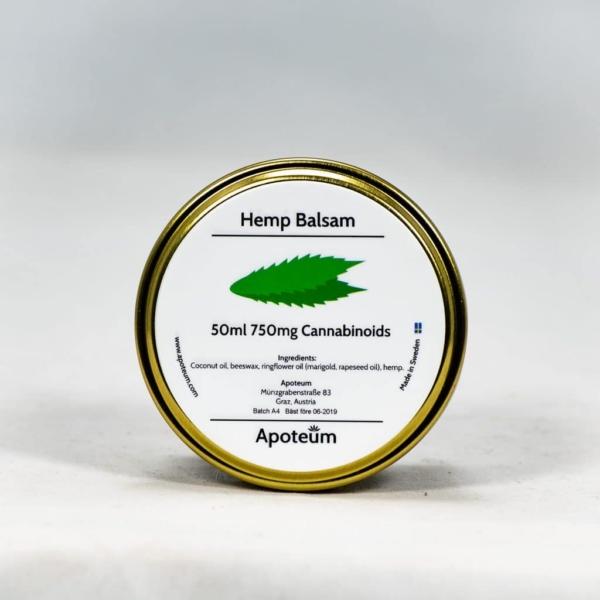 Hemp balsam - CBD-hamppuvoide