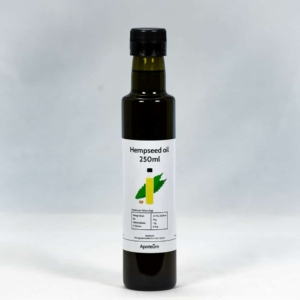 Hempseed Oil - Hampunsiemenöljy 250 ml