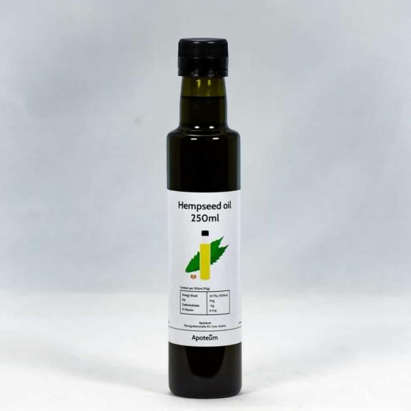 Hempseed Oil - Hampunsiemenöljy 250 ml