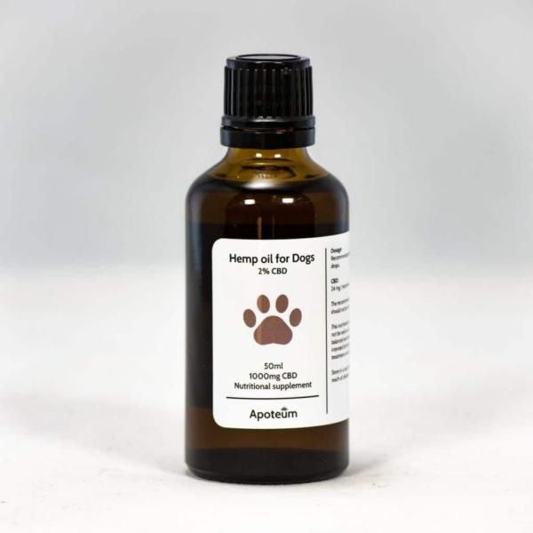 1% CBD-öljy Koirille 50 ml
