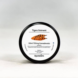 Tiger liniment - CBD-tiikeribalsami