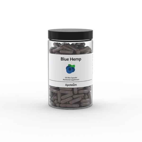 Blue Hemp – hamppukapselit 250 kpl