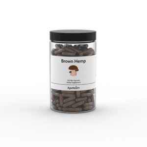Brown Hemp – hamppukapselit 250 kpl