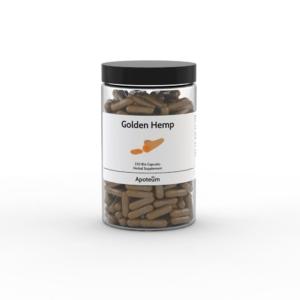 Golden Hemp – hamppukapselit 250 kpl