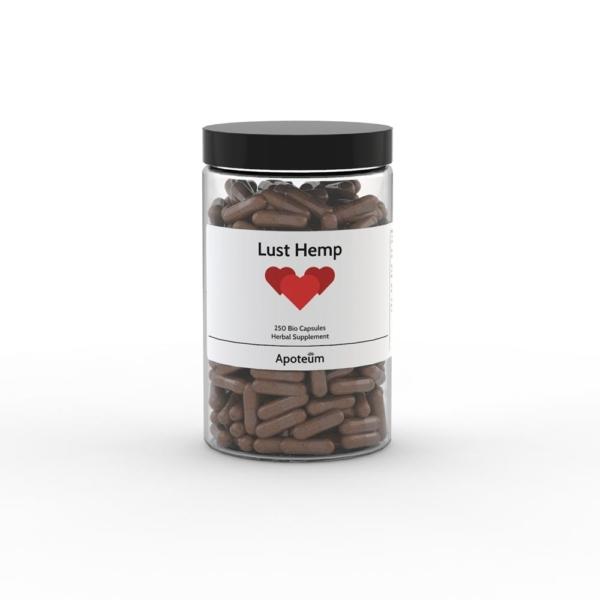 Lust – hamppukapselit 250 kpl