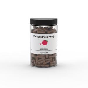 Granaattiomena – hamppukapselit 250 kpl
