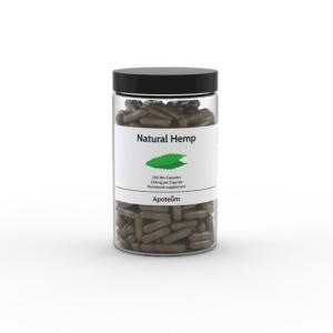 Natural Hemp – hamppukapselit 250 kpl